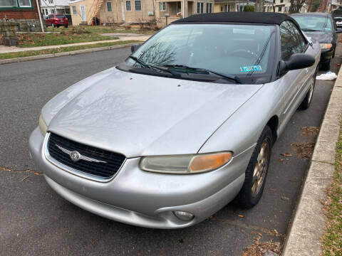 2000 Chrysler Sebring for sale at Michaels Used Cars Inc. in East Lansdowne PA