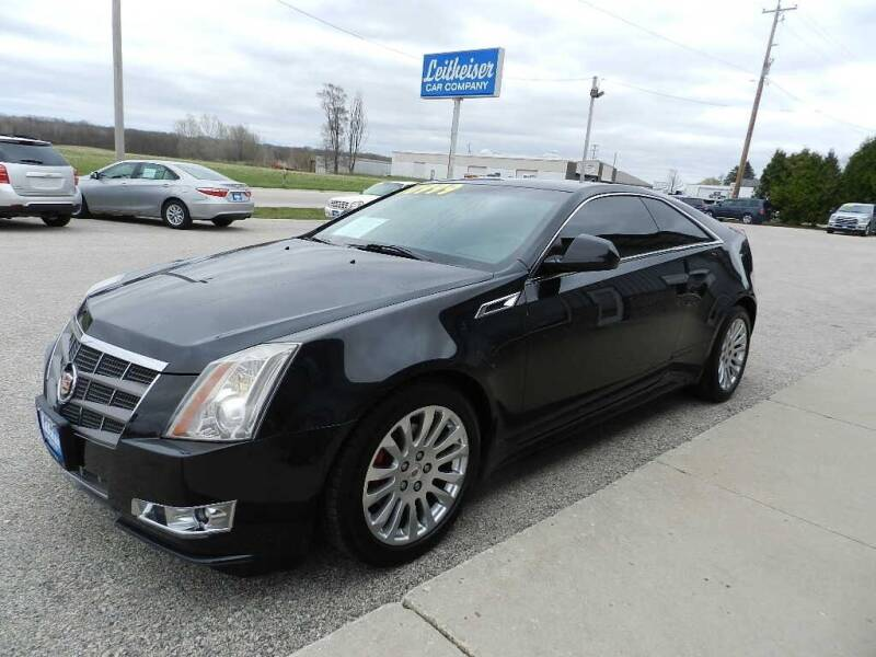2011 Cadillac CTS for sale at Leitheiser Car Company in West Bend WI