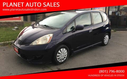 2010 Honda Fit for sale at PLANET AUTO SALES in Lindon UT