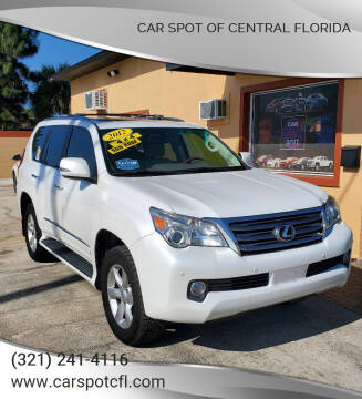 2012 Lexus GX 460 for sale at Car Spot Of Central Florida in Melbourne FL