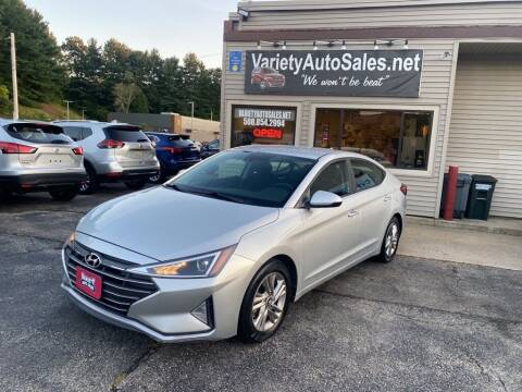 2019 Hyundai Elantra for sale at Variety Auto Sales in Worcester MA