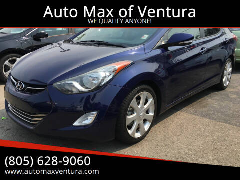 2013 Hyundai Elantra for sale at Auto Max of Ventura in Ventura CA