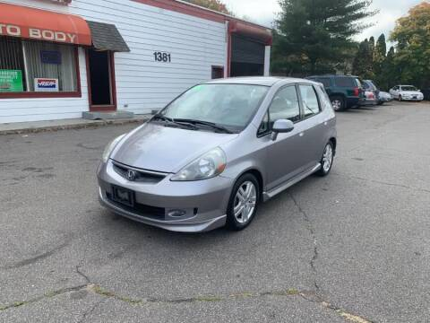 2008 Honda Fit for sale at American Auto Specialist Inc in Berlin CT
