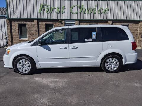 2015 Dodge Grand Caravan for sale at First Choice Auto in Greenville SC