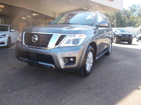 2019 Nissan Armada for sale at Howell Buick GMC Nissan in Summit MS