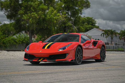 2020 Ferrari 488 Pista for sale at EURO STABLE in Miami FL