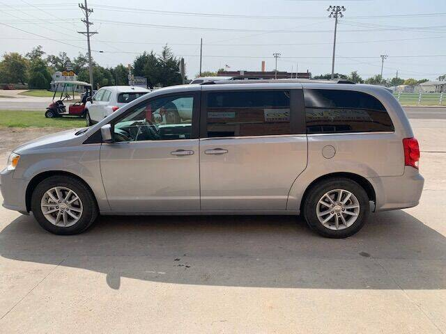 2019 Dodge Grand Caravan for sale at J & S Auto in Downs KS