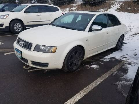 2004 Audi S4 for sale at Capital Fleet  & Remarketing  Auto Finance in Columbia Heights MN