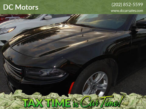 2015 Dodge Charger for sale at DC Motors in Springfield VA