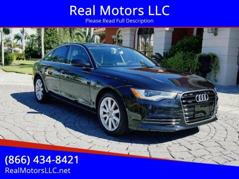 2014 Audi A6 for sale at Real Motors LLC in Clearwater FL