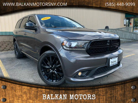 2015 Dodge Durango for sale at BALKAN MOTORS in East Rochester NY