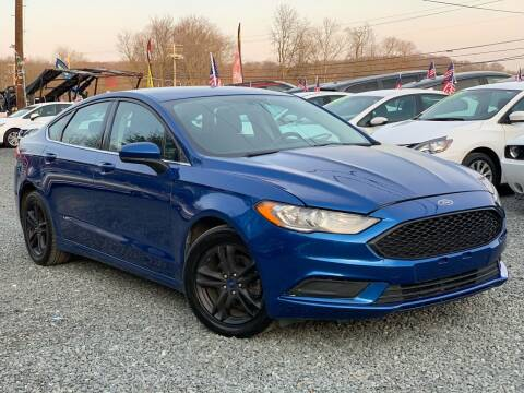 2018 Ford Fusion for sale at A&M Auto Sales in Edgewood MD
