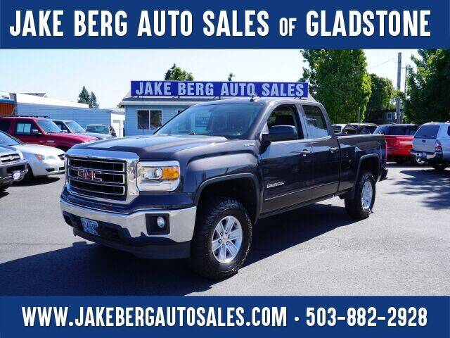 2015 GMC Sierra 1500 for sale at Jake Berg Auto Sales in Gladstone OR