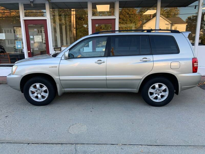 2003 Toyota Highlander for sale at O'Connell Motors in Framingham MA