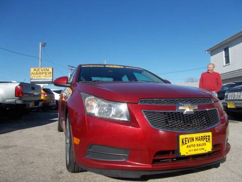 2011 Chevrolet Cruze for sale at Kevin Harper Auto Sales in Mount Zion IL