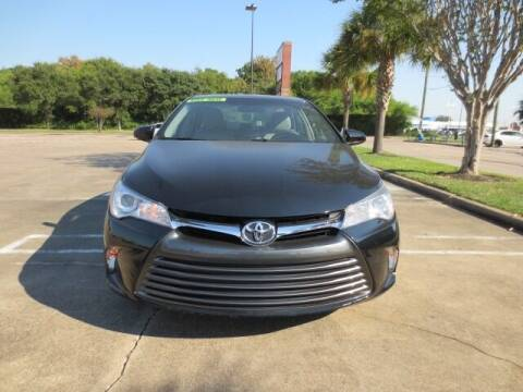 2017 Toyota Camry for sale at MOTORS OF TEXAS in Houston TX