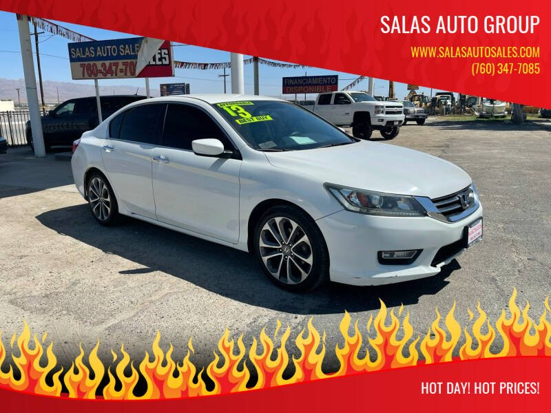 2013 Honda Accord for sale at Salas Auto Group in Indio CA