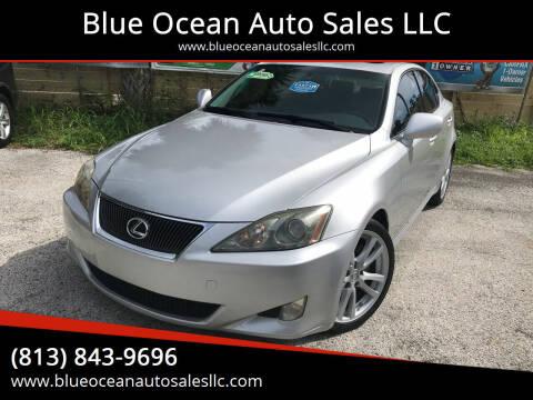 2006 Lexus IS 250 for sale at Blue Ocean Auto Sales LLC in Tampa FL