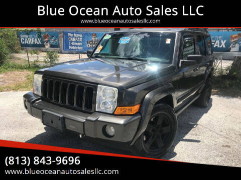 2006 Jeep Commander for sale at Blue Ocean Auto Sales LLC in Tampa FL