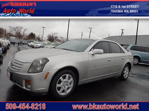 2007 Cadillac CTS for sale at Bruce Kirkham Auto World in Yakima WA