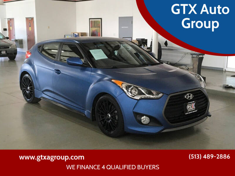 2016 Hyundai Veloster for sale at GTX Auto Group in West Chester OH