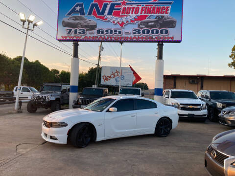 2016 Dodge Charger for sale at ANF AUTO FINANCE in Houston TX