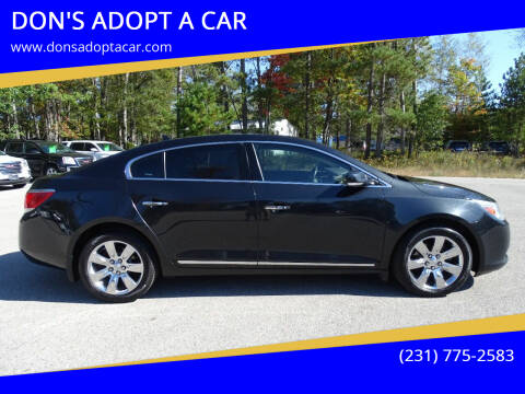 2013 Buick LaCrosse for sale at DON'S ADOPT A CAR in Cadillac MI