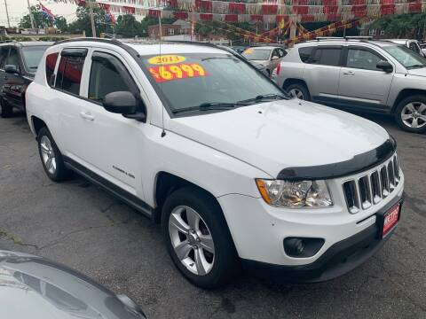 2013 Jeep Compass for sale at Metro Auto Exchange 2 in Linden NJ