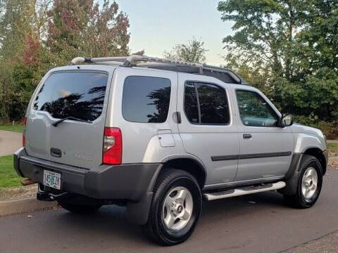 2003 Nissan Xterra for sale at CLEAR CHOICE AUTOMOTIVE in Milwaukie OR
