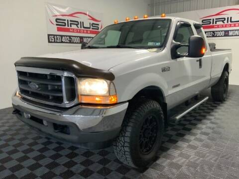 2004 Ford F-250 Super Duty for sale at SIRIUS MOTORS INC in Monroe OH