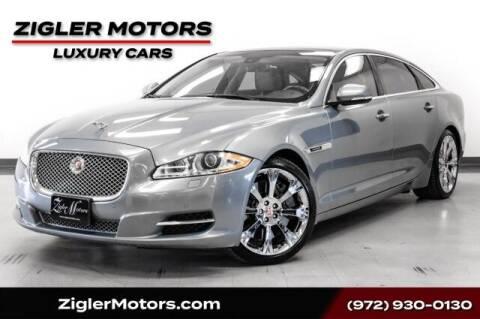 2014 Jaguar XJL for sale at Zigler Motors in Addison TX