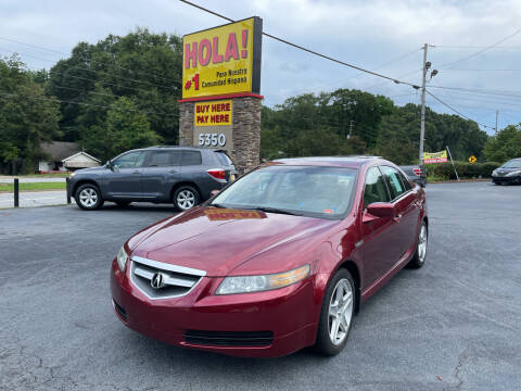 2005 Acura TL for sale at No Full Coverage Auto Sales in Austell GA