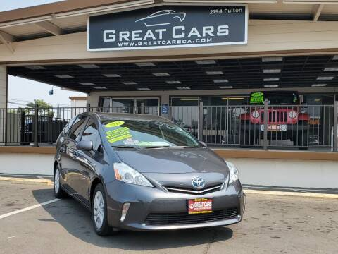 2014 Toyota Prius v for sale at Great Cars in Sacramento CA