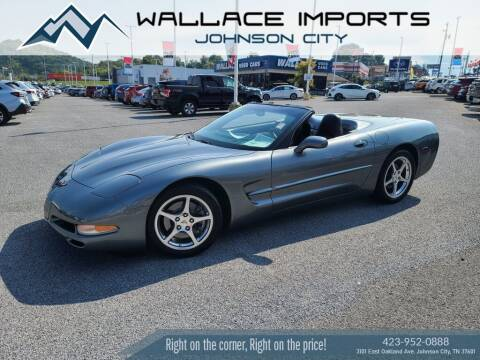 2004 Chevrolet Corvette for sale at WALLACE IMPORTS OF JOHNSON CITY in Johnson City TN