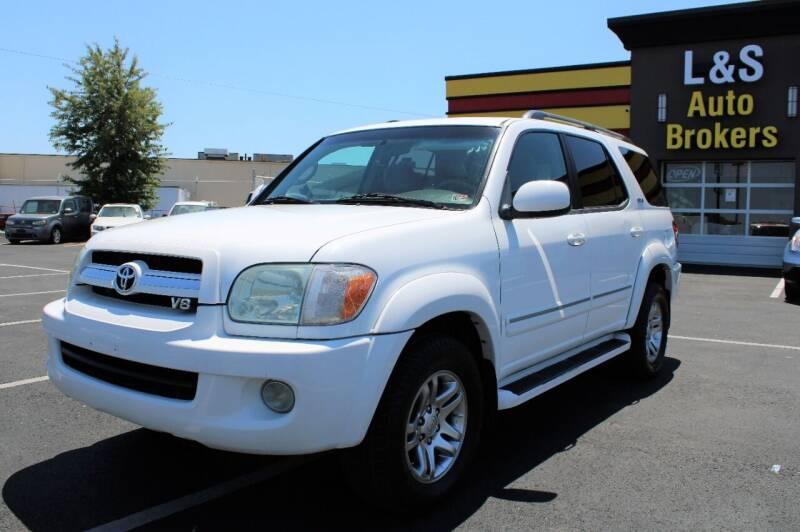 2005 Toyota Sequoia for sale at L & S AUTO BROKERS in Fredericksburg VA