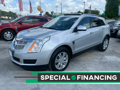 2012 Cadillac SRX for sale at D & P OF MIAMI CORP in Miami FL