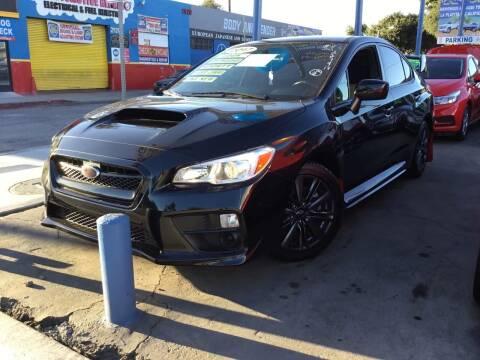 2017 Subaru WRX for sale at LA PLAYITA AUTO SALES INC in South Gate CA