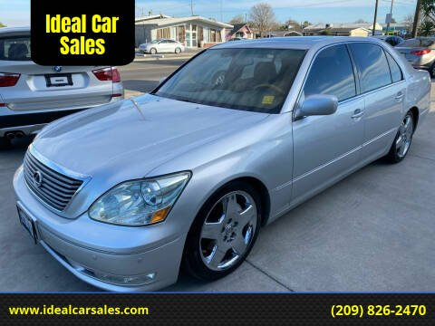 2006 Lexus LS 430 for sale at Ideal Car Sales in Los Banos CA