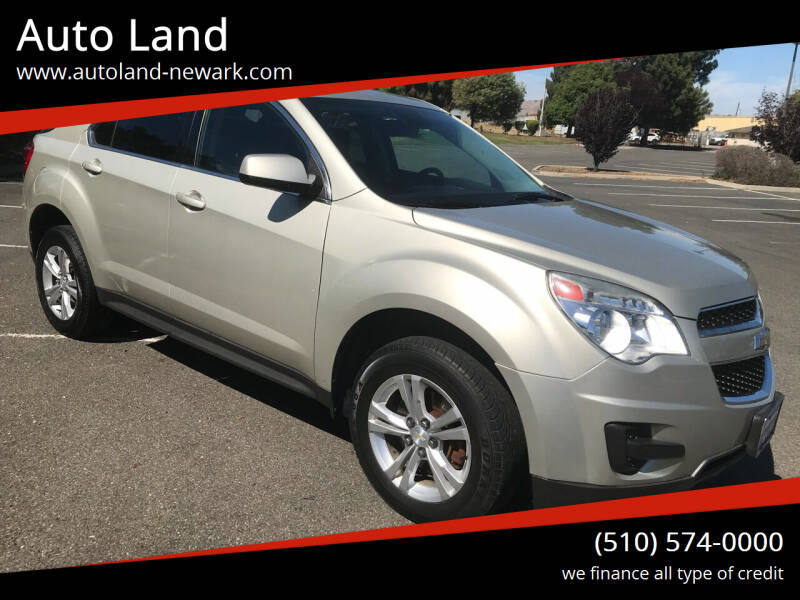 2013 Chevrolet Equinox for sale at Auto Land in Newark CA