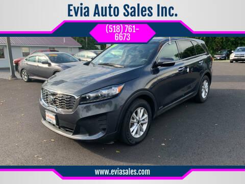 2019 Kia Sorento for sale at Evia Auto Sales Inc. in Glens Falls NY
