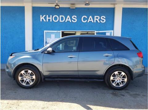 2008 Acura MDX for sale at Khodas Cars in Gilroy CA