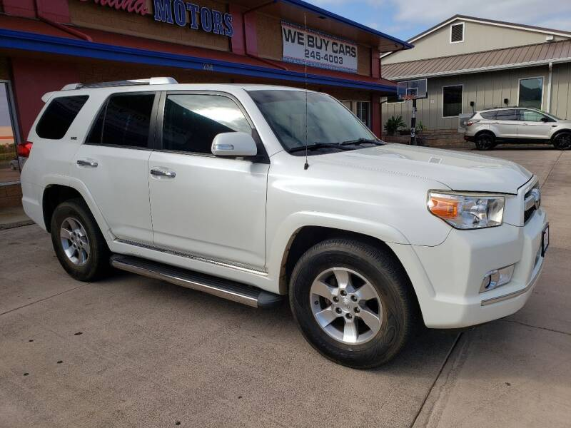 2011 Toyota 4Runner for sale at Ohana Motors in Lihue HI