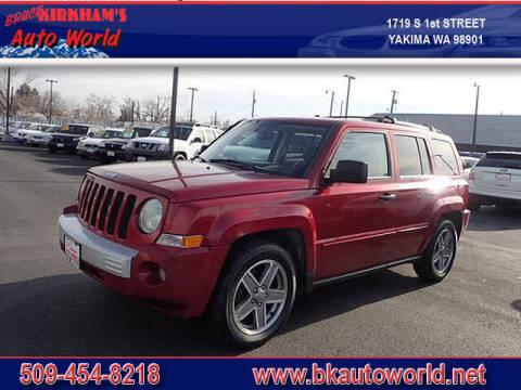 2007 Jeep Patriot for sale at Bruce Kirkham Auto World in Yakima WA