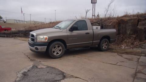 2006 Dodge Ram Pickup 1500 for sale at 6 D's Auto Sales MANNFORD in Mannford OK