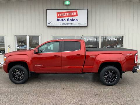 2015 GMC Canyon for sale at Certified Auto Sales in Des Moines IA