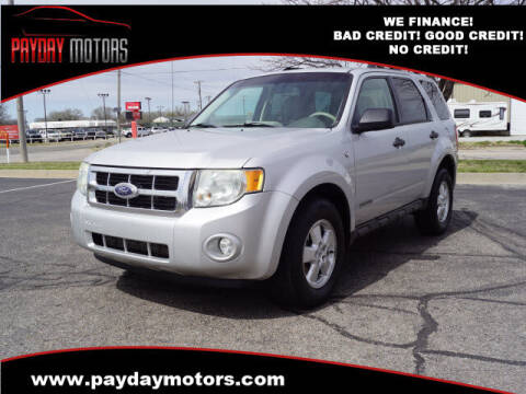 2008 Ford Escape for sale at Payday Motors in Wichita And Topeka KS