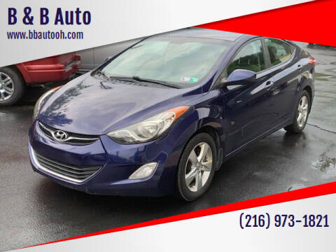 2012 Hyundai Elantra for sale at B & B Auto in Cleveland OH