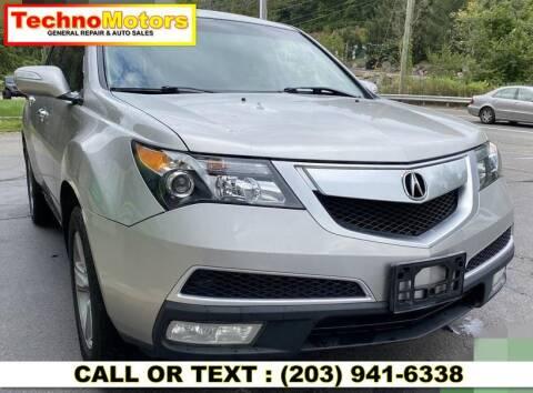 2012 Acura MDX for sale at Techno Motors in Danbury CT