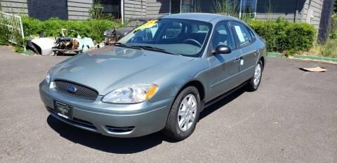 2005 Ford Taurus for sale at Persian Motors in Cornelius OR