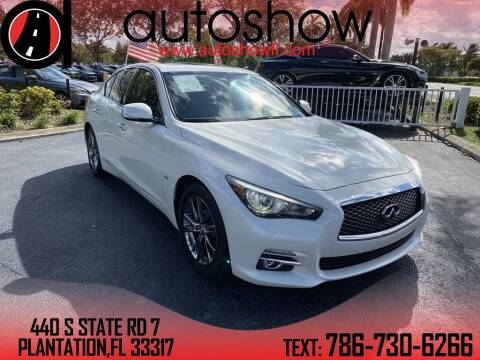 2017 Infiniti Q50 for sale at AUTOSHOW SALES & SERVICE in Plantation FL